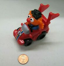 Sesame Street Workshop ERNIE HASBRO RED SPORTS CAR TOY DIECAST Cake Topper