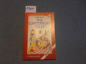 the canterbury tales Att. libro in inglese