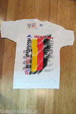 World Cup Vintage 1994 USA Soccer Germany mens graphic t shirt L APEX ONE NWT