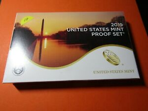 2019 S US Mint Proof Set #18 - 11 Coins -  West Point Proof Cent Included