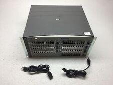 HP Procurve 4108gl Managed Switch w/ 7x J4908A Gig-T/GBIC Gigabit Modules 2x PSU