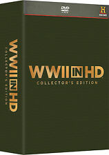WWII In HD . Collector's Edition . World War II 2. Weltkrieg Lost Films . 5 DVD