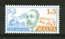 MALTA 1974 DIESEL LOCOMOTIVE / UPU COMMEMORATIVE STAMP SG 527 MNH