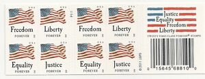 US 4644c Four Flags forever booklet APU P1111 (20 stamps) MNH 2012