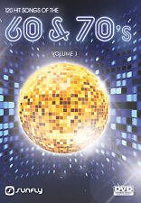 HITS FROM THE 60'S AND 70'S SUNFLY KARAOKE DVD - 120 HIT SONGS
