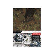 German Flecktarn - GEARSKIN™ self adhesive camouflage fabric wrap, 0 reflection!