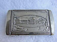 1905 LEWIS & CLARK CENTENNIAL EXPOSITION Match Safe ~ FORESTRY BUILDING