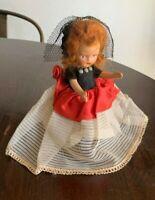 "Antique Bisque Doll , 5 1/2""   #3"