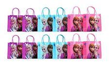 12PCS Disney Frozen Authentic Goodie Party Favor Gift Birthday Loot Bags Elsa