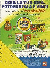 X7415 LEGO - Crea la tua idea - Pubblicità del 1995 - Vintage advertising