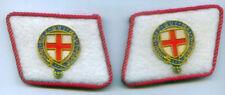 English UK Britain Royal Knight Knighthood Uniform Collar Tabs Order Garter Star
