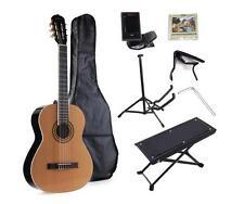 Full Size Nylon-String Classical Student Beginner Guitar with Gig Bag, E-tuner