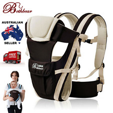 2017 New Beth Bear 0-30 Months Breathable Front Facing Baby Carrier Infant Sling