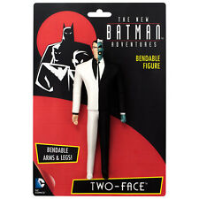 TWO-FACE the new Batman Adventures Animated Series Bendable Villain DC Comic toy