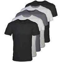 Gildan Men's Crew T-Shirt 5 Pack, Assortment, Large, Assortment, Size Large fokk
