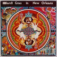MARDI GRAS IN NEW ORLEANS: Professor Longhair, Wild Magnolias Funk Jazz LP
