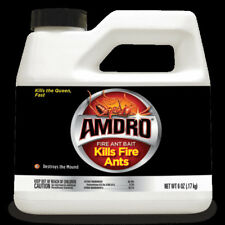 LOT of (5) Amdro Fire Ant Bait Granules 6 oz Containers