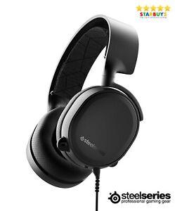 SteelSeries Arctis 3 Gaming Headphones Headset With Mic Xbox PC & PS4 - Black