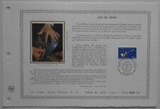 Document Artistique DAP 595 1er jour 1983 Art du Bijou