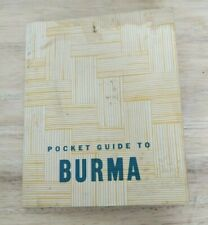 The Pocket Guide to Burma (1944, War and Navy Departments)
