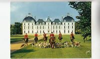 BF31731 chateau de cheverny l et c hunting horse dog  france front/back image