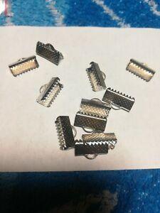 Armband Verschluss Krokodil 1,2cm Silber