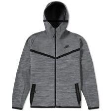 Nike Men's Tech Knit Windrunner Hoodie Jacket, Size L -Grey (728685-043)