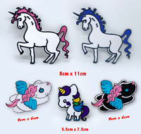 Lovely Unicorn cute cartoon toy badges Iron or Sew on Embroidered Patch