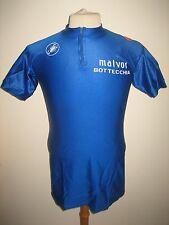 Malvor Bottecchia 80's Italy jersey shirt cycling maglia ciclismo size XL
