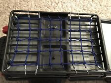 NEW STYLE......TRAXXAS TRX-4 Roof Rack  Net ..BLUE...LAND ROVER DEFENDER