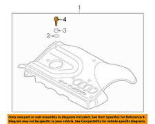 AUDI OEM 00-06 TT Quattro Engine Appearance Cover-Cover Pin N90801101