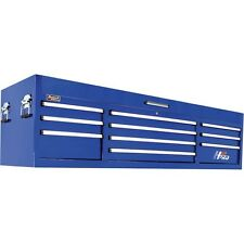 "HOMAK H2PRO BLUE 72"" 10-DRAWER TOP TOOL CHEST BOX STORAGE"