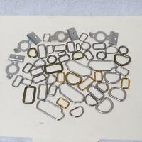 Paul/'s Western Belt Buckle Loop Tip Set 1 1//4 Inch Horse Tack Brushed Nickel New