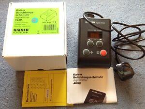 Kaiser 4030 digital darkroom enlarger timer, boxed, unused