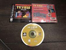 Tetris Plus - Playstation 1 PS1 - Complete CIB