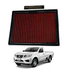 Power Air Flow Filter HURRICANE Cotton FOR NISSAN NAVARA D23 NP300 2015-ON 2-4WD