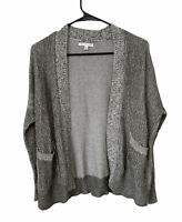 American Eagle Cardigan Knit Open Front Sweater Top Cozy Women's Size Small