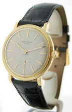 Patek Philippe 3429 Gubelin 18K Yellow Gold Mens Watch 3429J DOUBLE SIGNED
