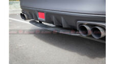 STI Style ABS Rear Bumper Diffuser For MY14-18 Subaru WRX / STI (UNPAINTED)