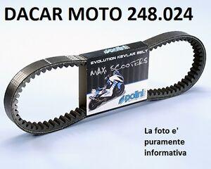 248.024 Courroie Variateur POLINI Honda Jazz 250 - Reflex 250