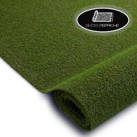 Kunstrasen Rasenteppich HAVANA grün dick Gras, Wischer, Rasengarten, dauerhaft
