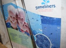"""Gameliners 21' Round Game Series Overlap Pool Liner 48/52"""" NOS Cantar"""