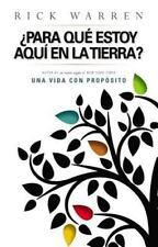 ¿para que estoy aquí en la tierra? (Spanish Edition) by Warren, Rick