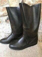 Nokia Made in FINLAND Vintage Rubber Tall Rain Boots Size 41 Men's or Women's