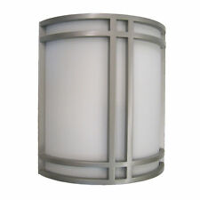 Brushed Nickel ADA Fluorescent Wall Sconce