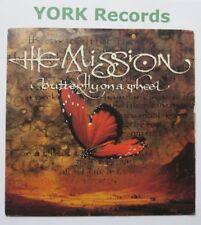 """MISSION - Butterfly On A Wheel - Excellent Condition 7"""" Record Mercury MYTH 8"""