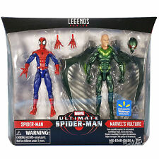 Marvel Legends ultimate spider-man & VAUTOUR Pack de 2 NEUF