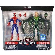 Marvel leggende SPIDER-MAN & AVVOLTOIO Confezione da 2 NUOVO