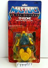 MOTU, Sy-Klone, Masters of the Universe, MOC, carded, figure, He Man, sealed