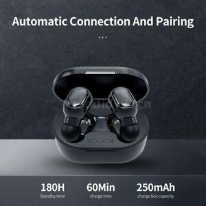 AURICOLARI Bluetooth 5.0 STEREO Pr SPORT Headset Cuffie Wireless Waterproof